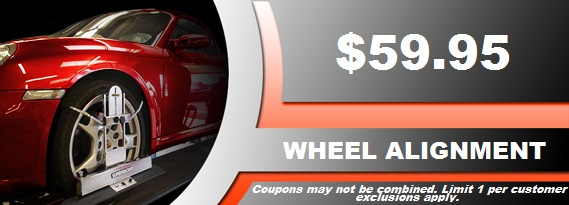 Wheel Alignment Coupon in Aurora, CO