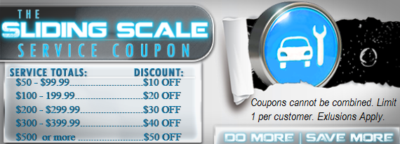 Auto Service Coupon in Aurora, CO